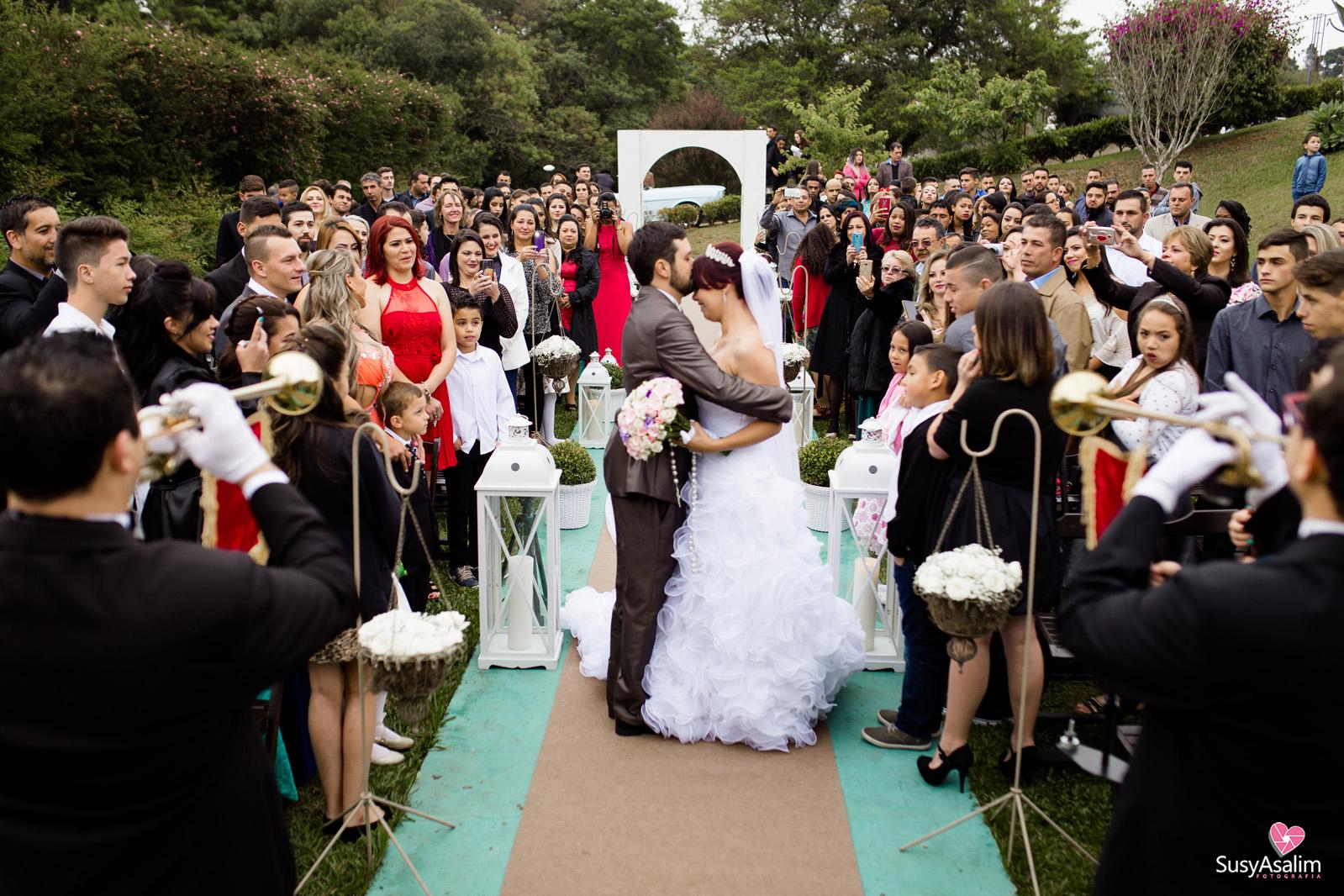 Fotografia de Casamento - Tatielli e Rogerson - Chácara Encanto das Areias